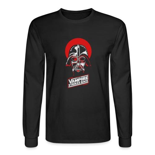 the Vampire Strikes Back - Men's Long Sleeve T-Shirt