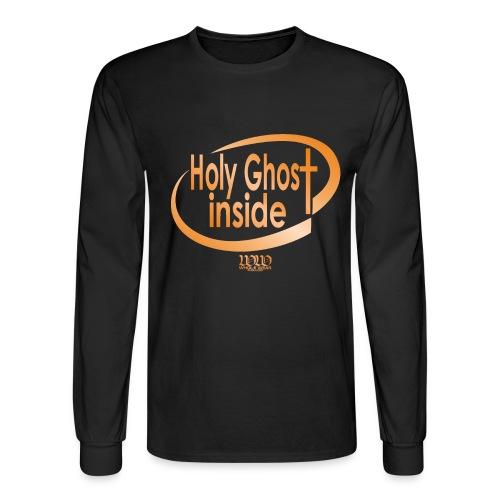 ***12% Rebate - See details!*** Holy Ghost Inside - Men's Long Sleeve T-Shirt