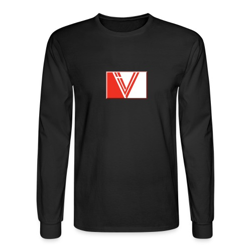 LBV red drop - Men's Long Sleeve T-Shirt