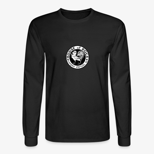 House of Rock round logo - Men's Long Sleeve T-Shirt