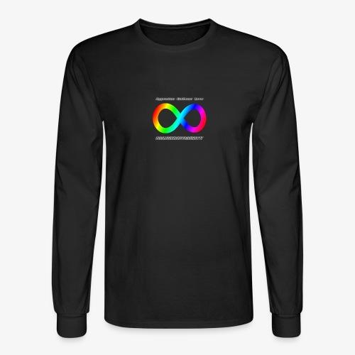 Embrace Neurodiversity - Men's Long Sleeve T-Shirt