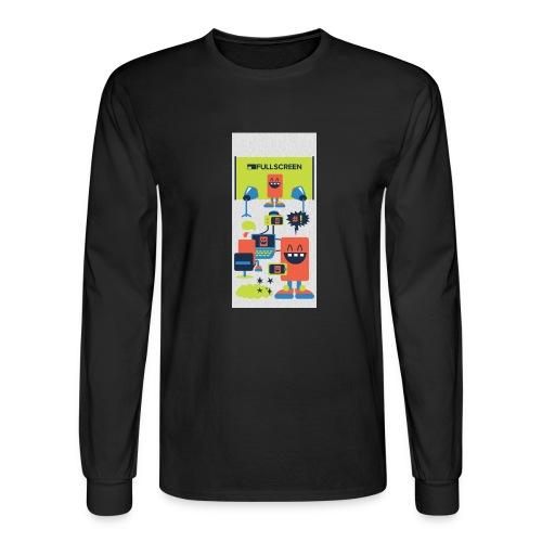 iphone5screenbots - Men's Long Sleeve T-Shirt