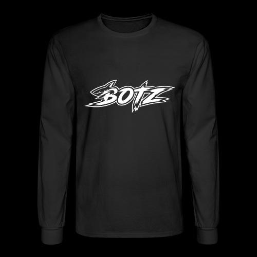 BOTZ White Logo - Men's Long Sleeve T-Shirt
