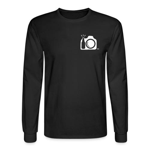 White Transparent No Initials png - Men's Long Sleeve T-Shirt