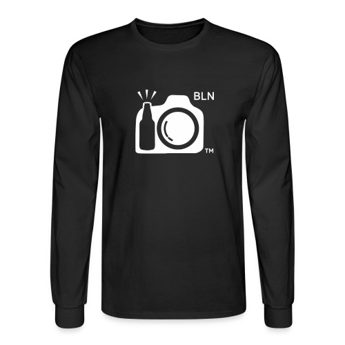 White Transparent With BLN png - Men's Long Sleeve T-Shirt