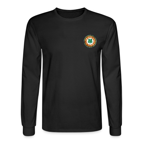 st paddy front ravens 2 png - Men's Long Sleeve T-Shirt
