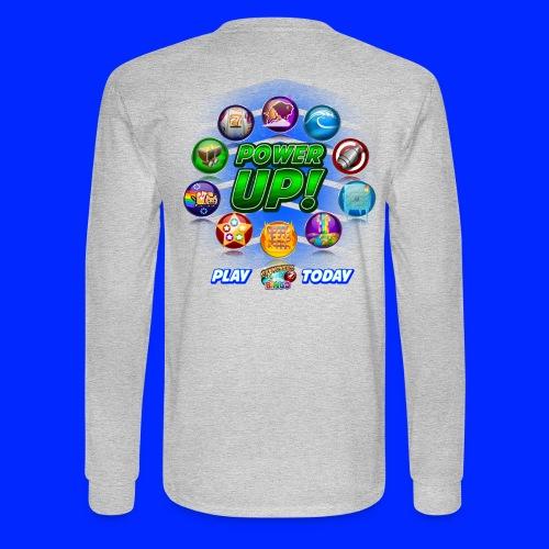 Vintage Cannonball Bingo Power-Up Tee - Men's Long Sleeve T-Shirt