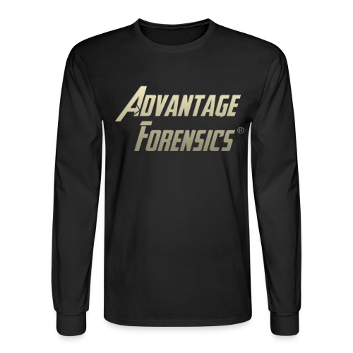 Registered Gold Front - Men's Long Sleeve T-Shirt