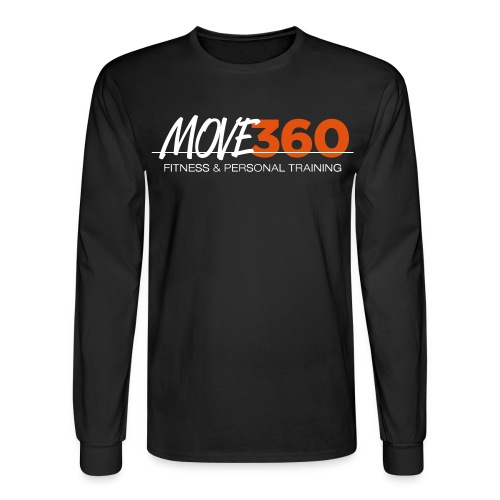 Move360 Logo LightGrey - Men's Long Sleeve T-Shirt