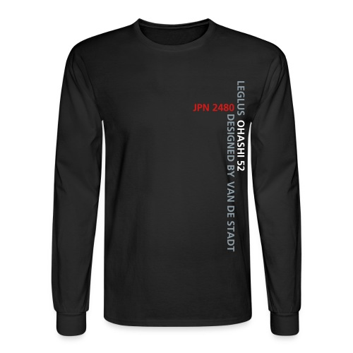 LEGLUSnoback - Men's Long Sleeve T-Shirt