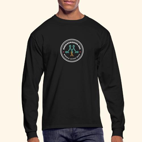 large_maggies_mission_log - Men's Long Sleeve T-Shirt