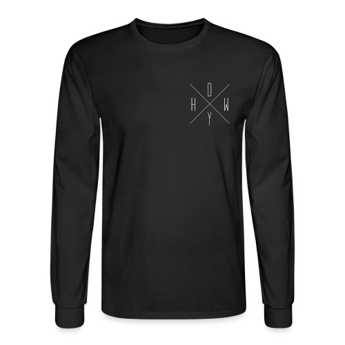 HDWY white - Men's Long Sleeve T-Shirt