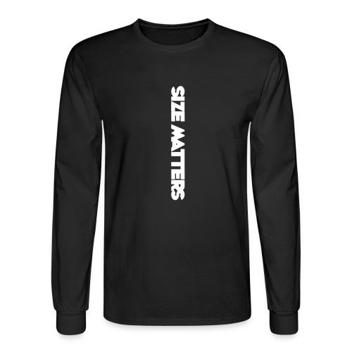 SIZEMATTERSVERTICAL - Men's Long Sleeve T-Shirt
