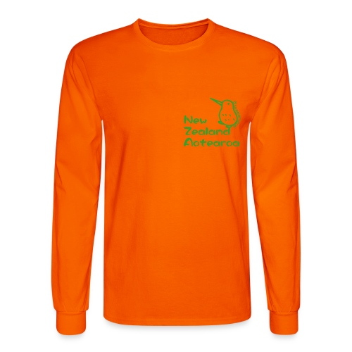 New Zealand Aotearoa - Men's Long Sleeve T-Shirt