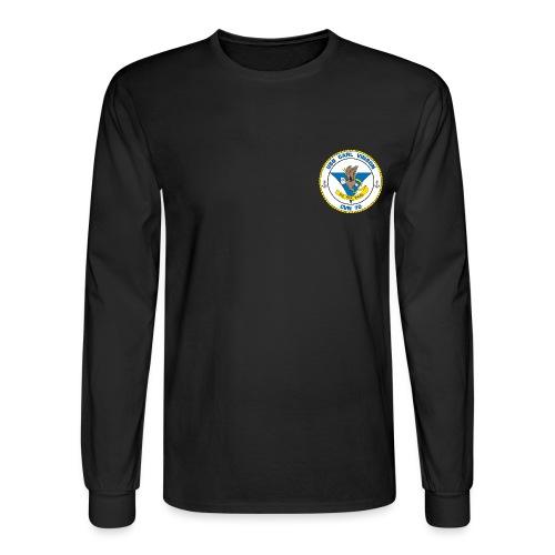 CARL VINSON CREST LS - Men's Long Sleeve T-Shirt