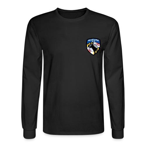 K-9 unit Logo - Men's Long Sleeve T-Shirt