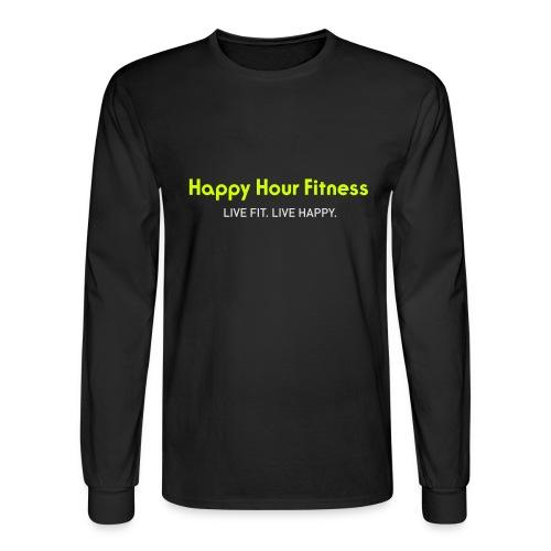 HHF_logotypeandtag - Men's Long Sleeve T-Shirt