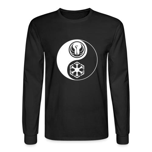 Star Wars SWTOR Yin Yang 1-Color Light - Men's Long Sleeve T-Shirt