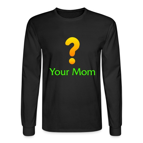Your Mom Quest ? World of Warcraft - Men's Long Sleeve T-Shirt