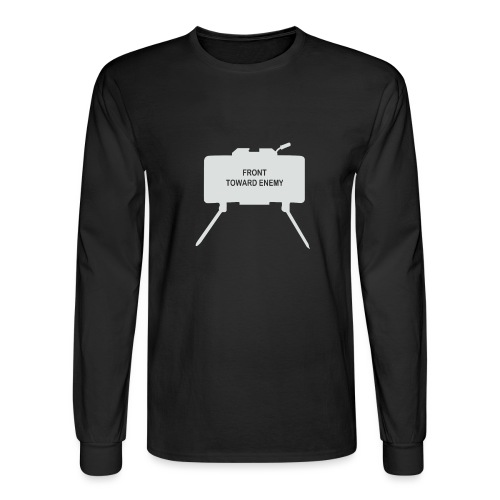 Claymore Mine (Minimalist/Light) - Men's Long Sleeve T-Shirt