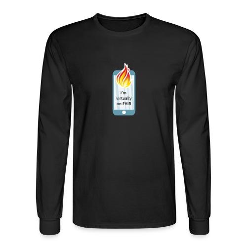 HL7 FHIR DevDays 2020 - Mobile - Men's Long Sleeve T-Shirt