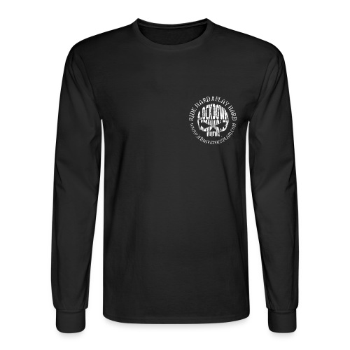Ride Hard, Play Hard - Men's Long Sleeve T-Shirt
