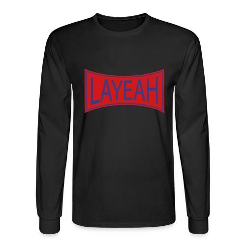 White LaYeah Shirts - Men's Long Sleeve T-Shirt