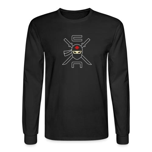 basicninjalogo - Men's Long Sleeve T-Shirt