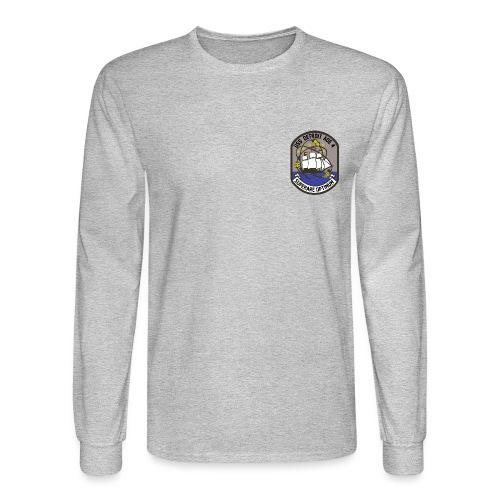 USS DETROIT COA - Men's Long Sleeve T-Shirt