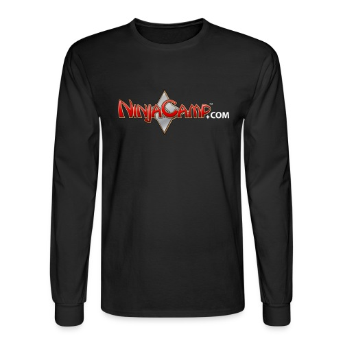 NC Logo for Dark Products - Men's Long Sleeve T-Shirt