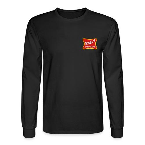 Port A Low Life Logo - Men's Long Sleeve T-Shirt