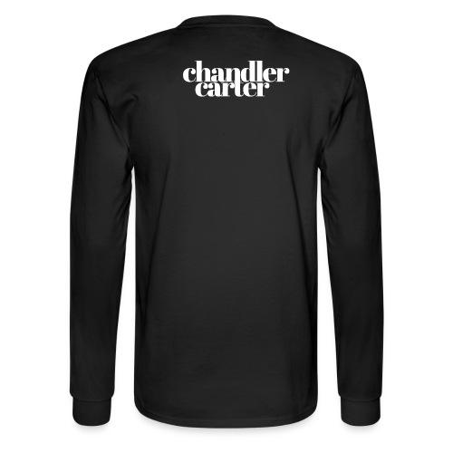 Chandler Carter Logo - White - Men's Long Sleeve T-Shirt