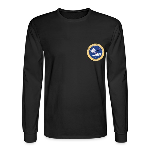 CONNIE CV CREST (LS) - Men's Long Sleeve T-Shirt