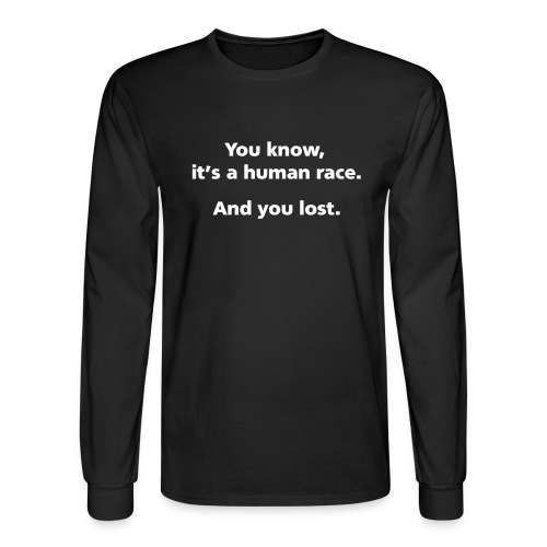 humanrace simple - Men's Long Sleeve T-Shirt