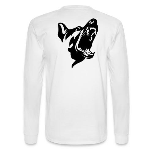 German Shepherd Dog Head - Men's Long Sleeve T-Shirt