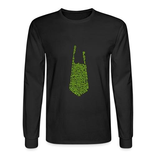 Nmap Tie - Men's Long Sleeve T-Shirt