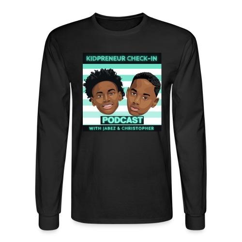 Kidpreneur Check-In Podcast - Men's Long Sleeve T-Shirt