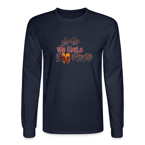 Around The World in 80 Screams - Men's Long Sleeve T-Shirt