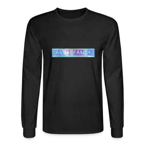 Canna fams #3 design - Men's Long Sleeve T-Shirt