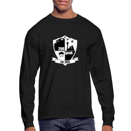 206geek podcast - Men's Long Sleeve T-Shirt