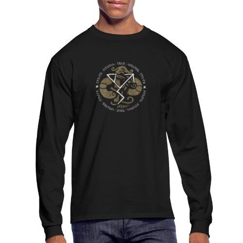 Witness True Sorcery Emblem (Alu, Alu laukaR!) - Men's Long Sleeve T-Shirt