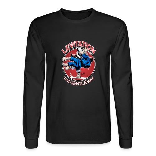 Judo Shirt - Levitation for dark shirt - Men's Long Sleeve T-Shirt