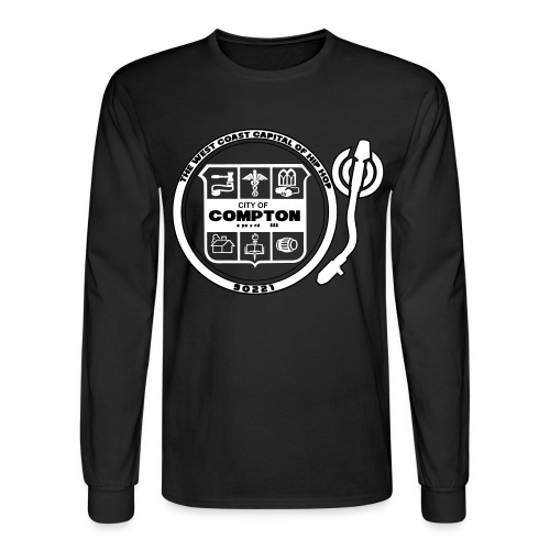 City of Compton - Men's Long Sleeve T-Shirt