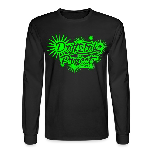 Drift Trike Project spikes Green png - Men's Long Sleeve T-Shirt