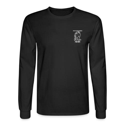 KDH3 Gorilla (White) - Men's Long Sleeve T-Shirt