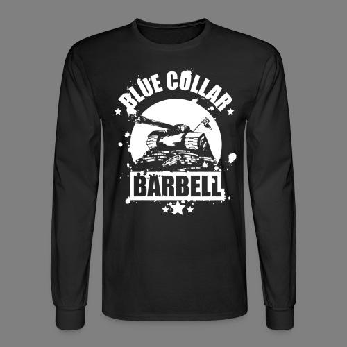 logo black shirts double - Men's Long Sleeve T-Shirt