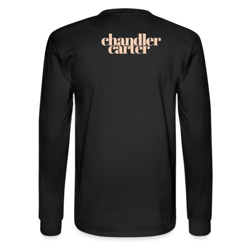 Chandler Carter Logo - Ecru - Men's Long Sleeve T-Shirt