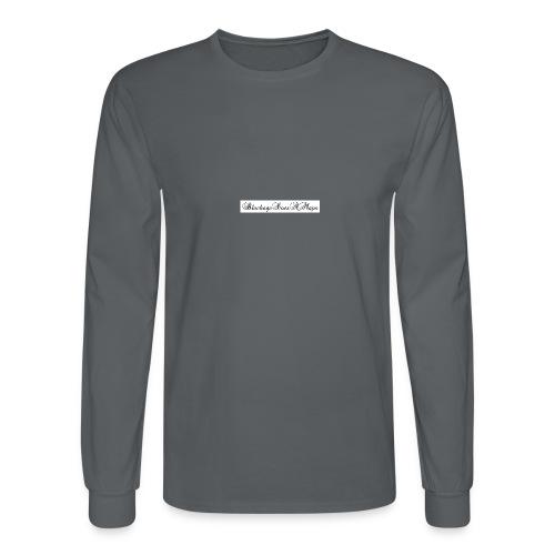Fancy BlockageDoesAMaps - Men's Long Sleeve T-Shirt