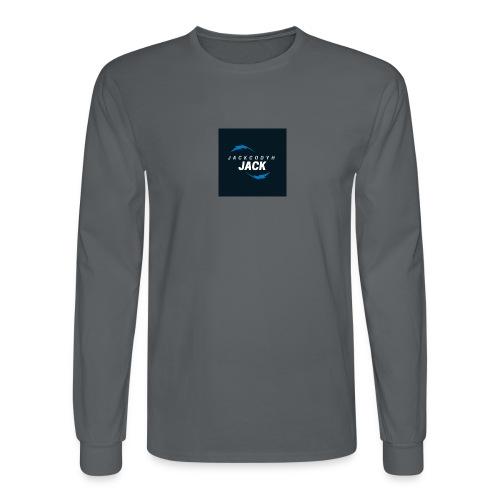 JackCodyH blue lightning bolt - Men's Long Sleeve T-Shirt