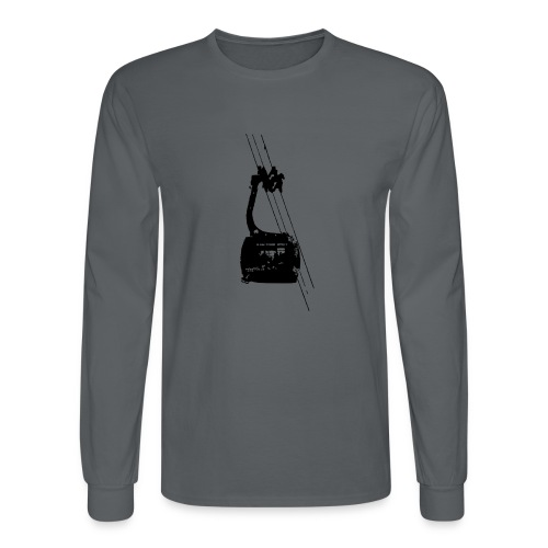 Ski Tram - Men's Long Sleeve T-Shirt